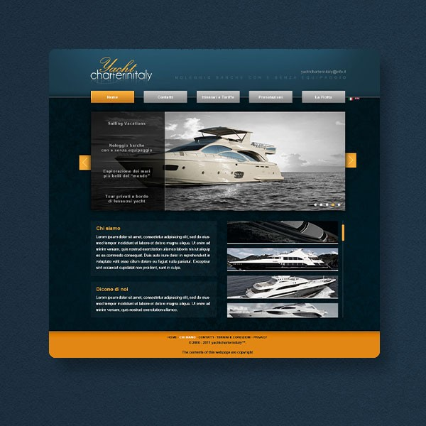 Thumbnail for Yachtcharterinitaly.it